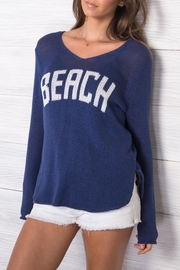 Wooden Ships Beach V Neck - Side cropped