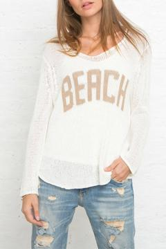 Shoptiques Product: Beach V Neck Sweater