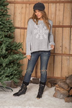 Wooden Ships Big Snowflake Sweater - Product List Image