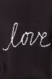 Wooden Ships Black Love Crew - Back cropped