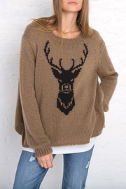 Wooden Ships Buck Crew Neck Top - Front cropped