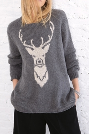 Wooden Ships Buck Crew Neck Top - Side cropped