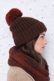 Wooden Ships Button-Off Pom Hat - Back cropped
