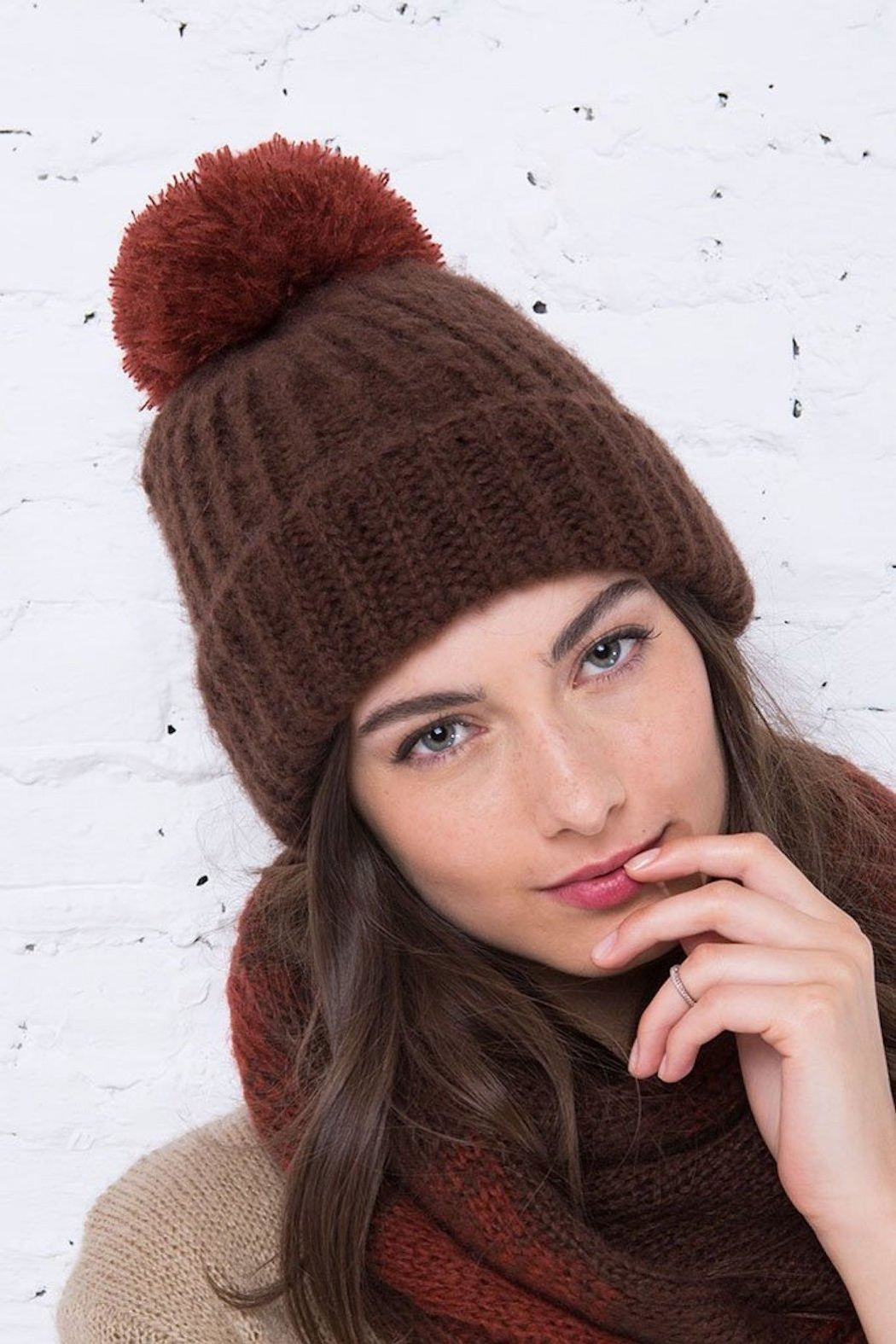 Wooden Ships Button-Off Pom Hat - Main Image
