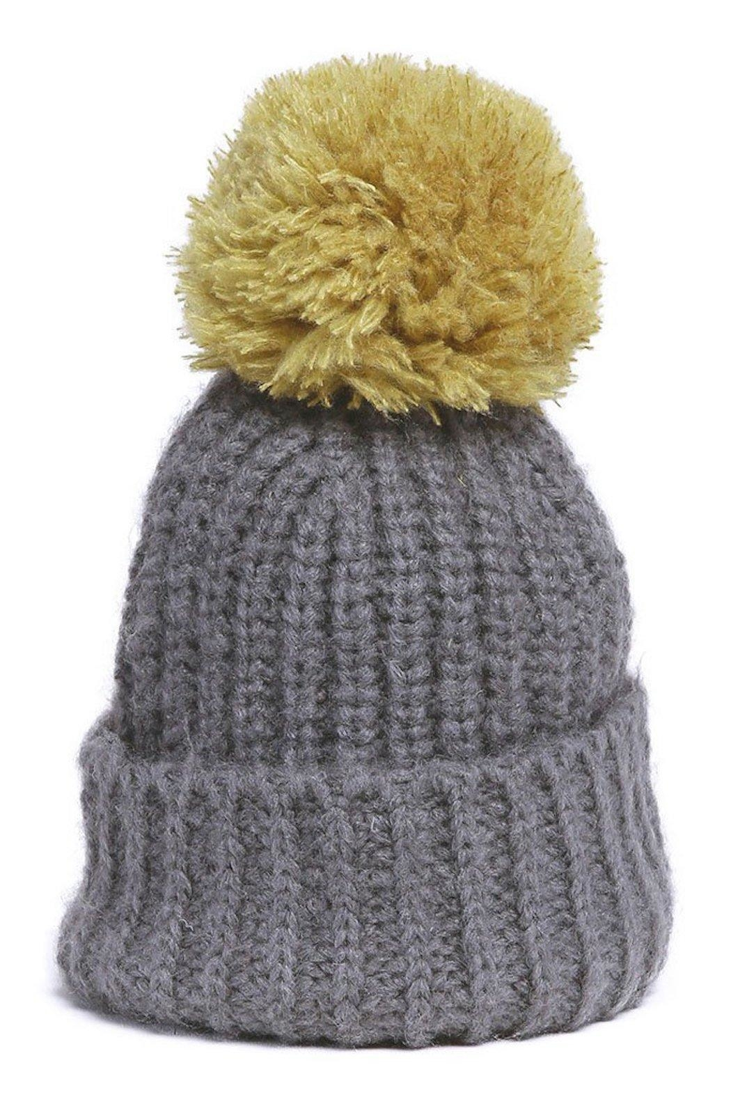 Wooden Ships Button-Off Pom Hat - Side Cropped Image