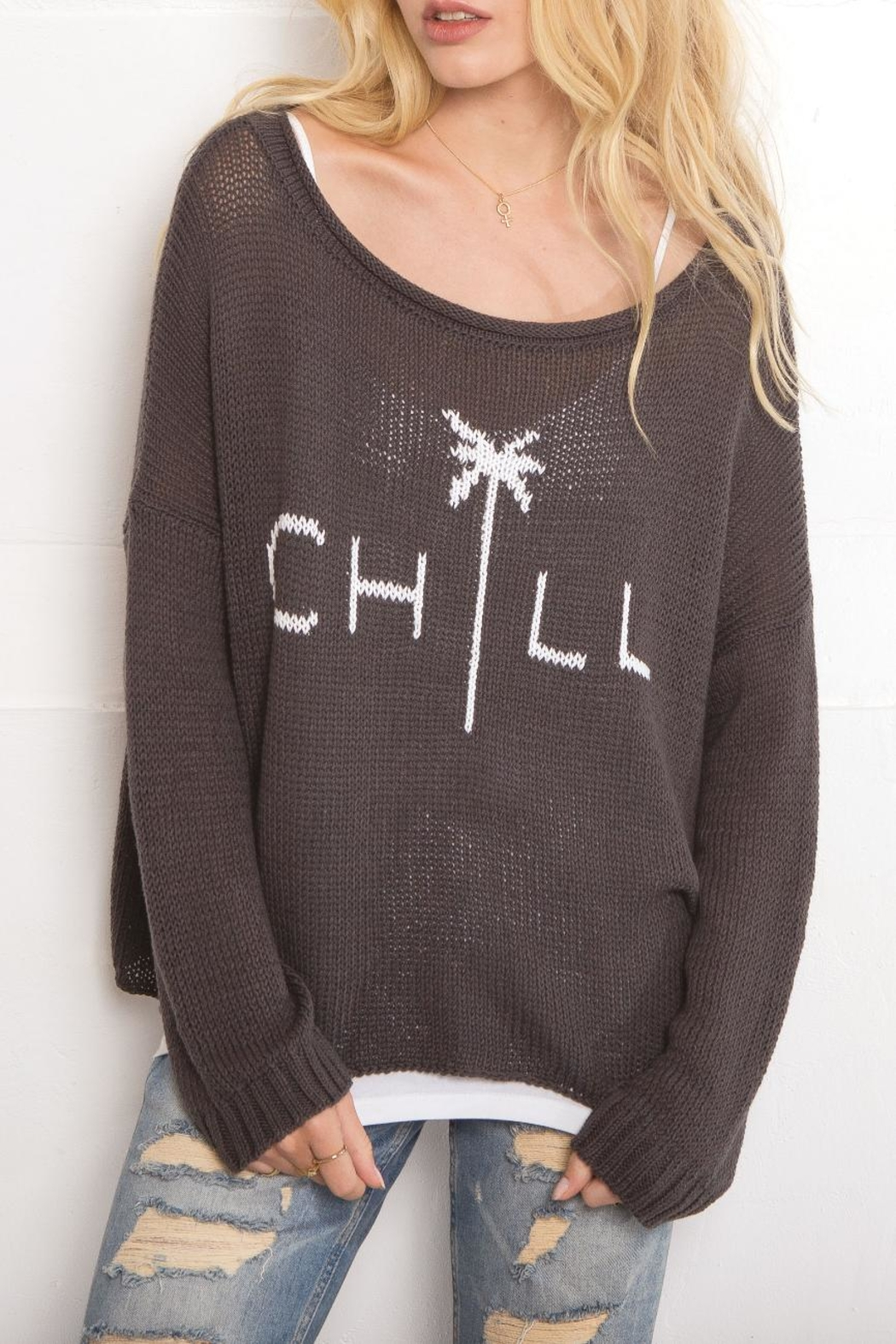 Wooden Ships Chill Cotton Crewneck - Front Full Image