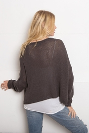 Wooden Ships Chill Cotton Crewneck - Side cropped