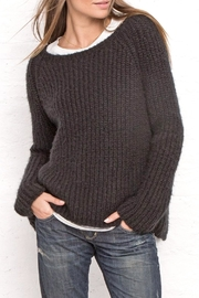 Wooden Ships Chunky Ribbed Crew - Side cropped
