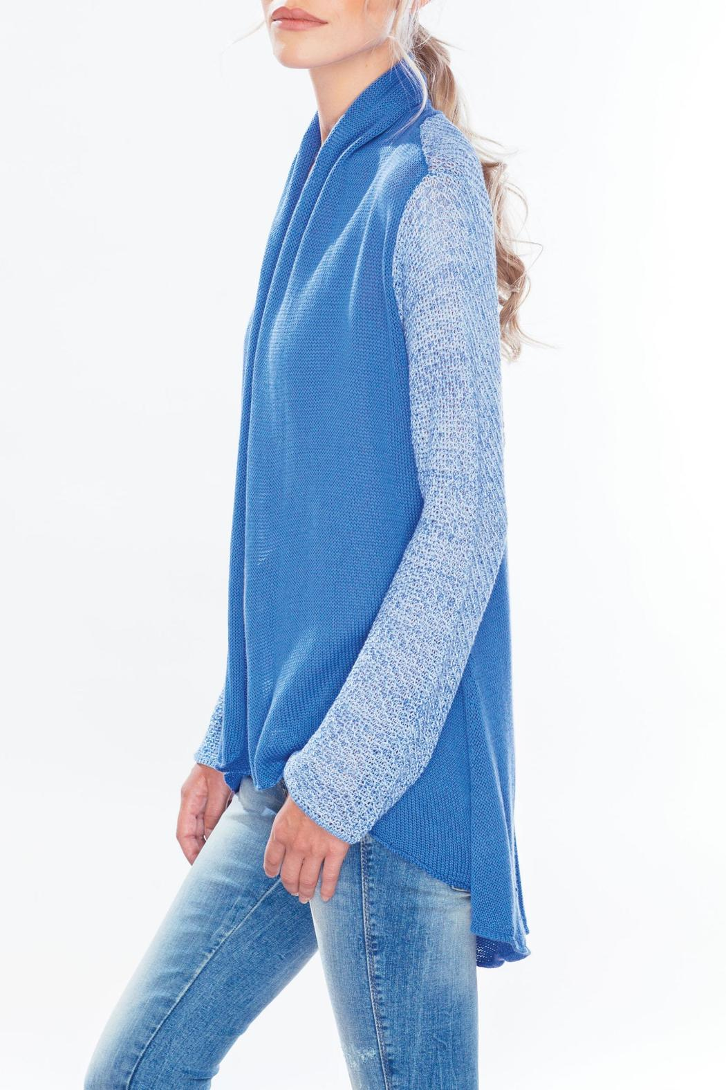 Wooden Ships Color Block Sweater - Front Full Image