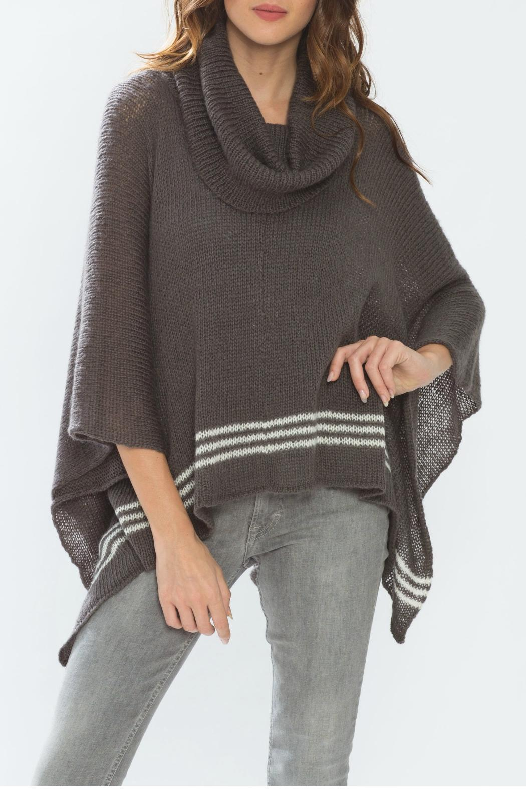 Wooden Ships Cowl Neck Poncho - Main Image