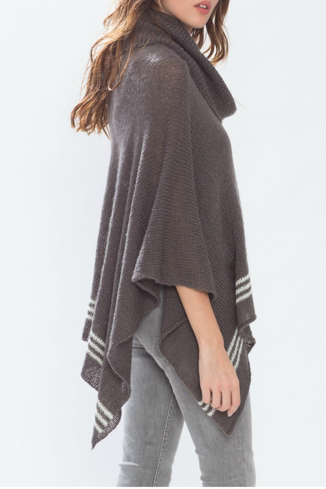 Wooden Ships Cowl Neck Poncho from New Jersey by Ocean Grove ...