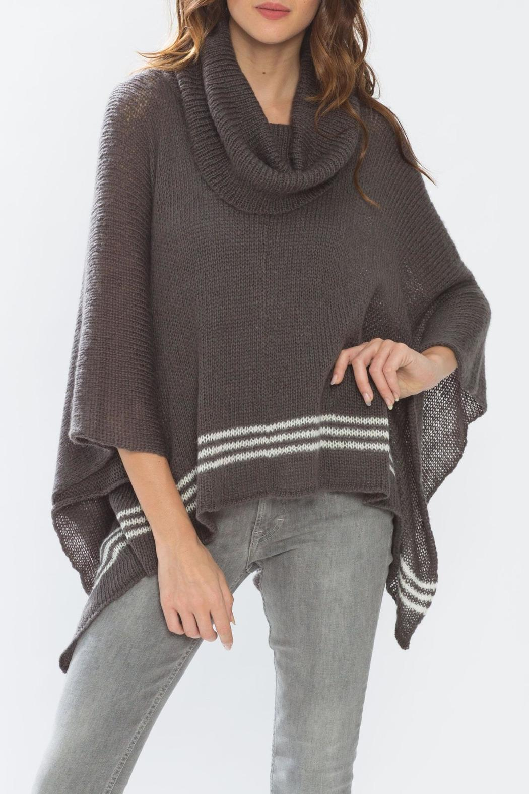 Wooden Ships Cowl Neck Poncho From Massachusetts By Sundance