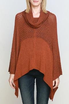 Wooden Ships Cowl Neck Poncho - Alternate List Image