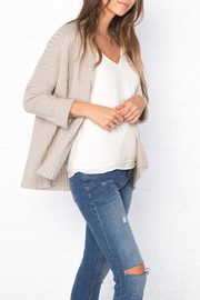 Wooden Ships Dana Ribbed Cardigan - Front full body