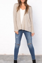 Wooden Ships Dana Ribbed Cardigan - Front cropped