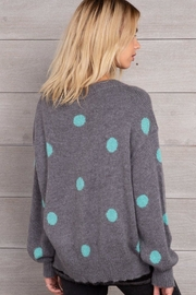 Wooden Ships Dot Crewneck Sweater - Front full body