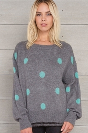 Wooden Ships Dot Crewneck Sweater - Front cropped