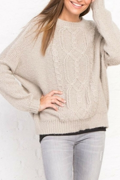 Wooden Ships Fisherman Cable Sweater - Alternate List Image