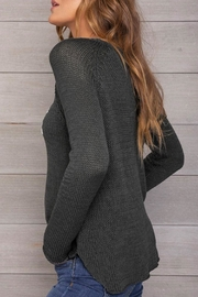 Wooden Ships Fur Mama Sweater - Side cropped