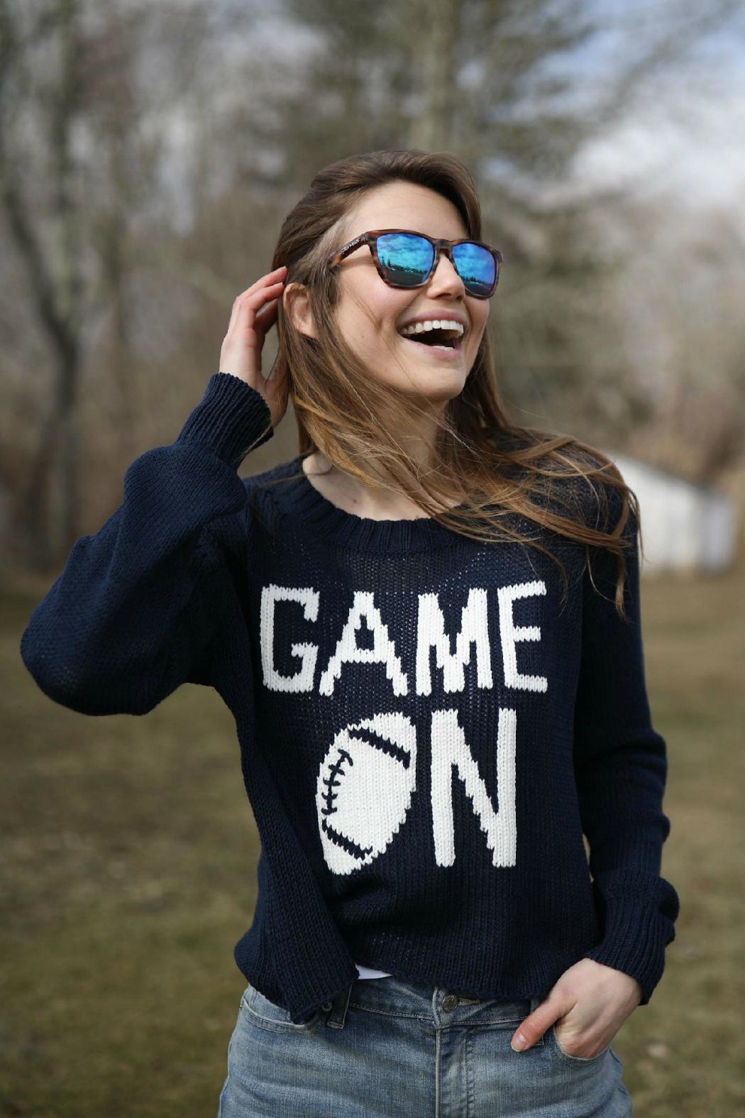 """Game On"" Sweater by J.Winston, Texas"
