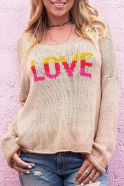 Wooden Ships Gypsy Love Crew - Front cropped