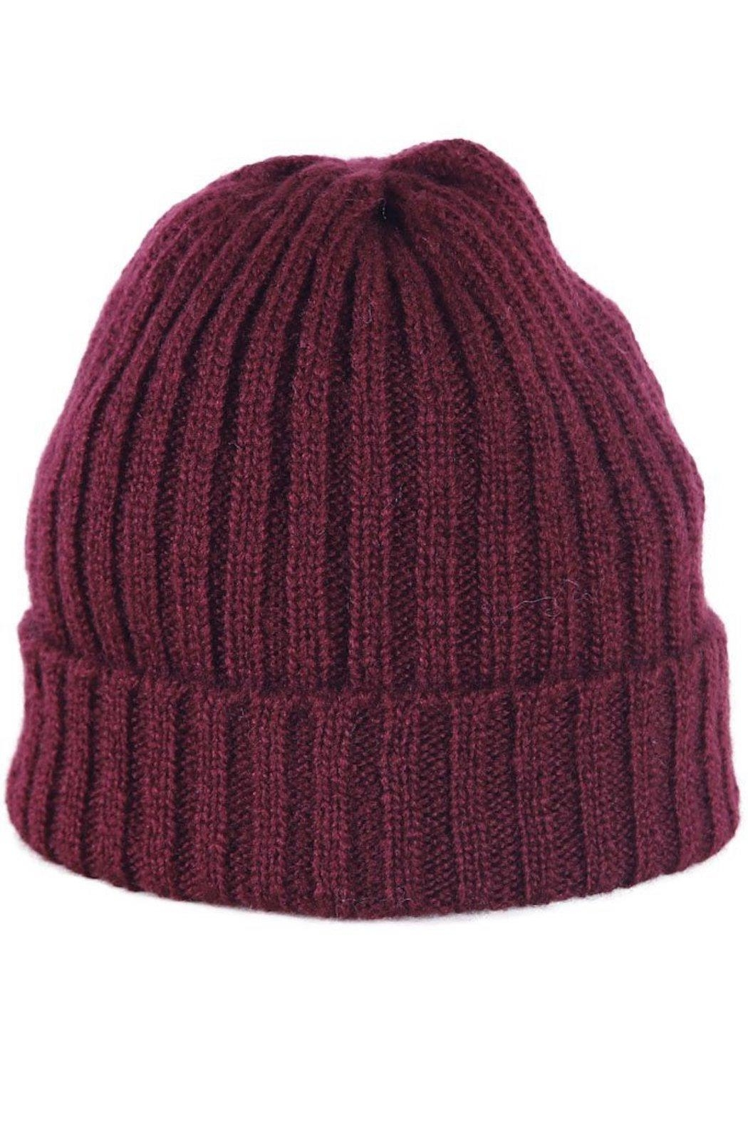 Wooden Ships Hamptons Rib Beanie - Back Cropped Image