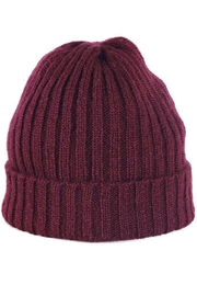 Wooden Ships Hamptons Rib Beanie - Back cropped