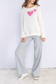 Wooden Ships Heart Sweater - Front cropped