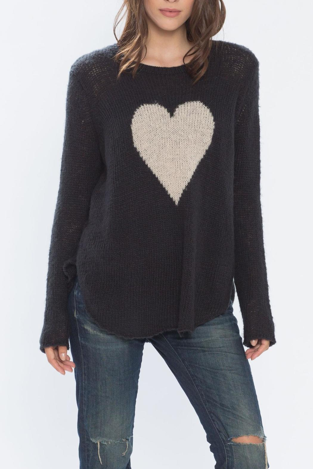 Wooden Ships Heart Sweater From Massachusetts By Sundance Clothing