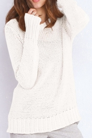 Wooden Ships Huckleberry Crewneck Sweater - Front cropped