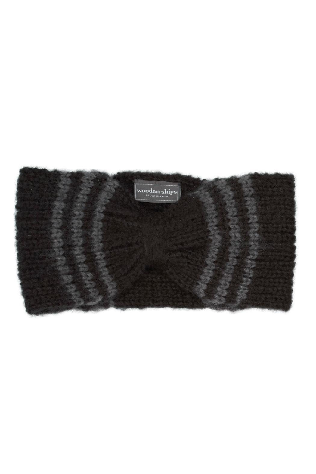 Wooden Ships Jackson Hand-Knit Headscarf - Front Cropped Image