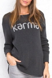 Wooden Ships Karma Crew Neck Top - Product Mini Image