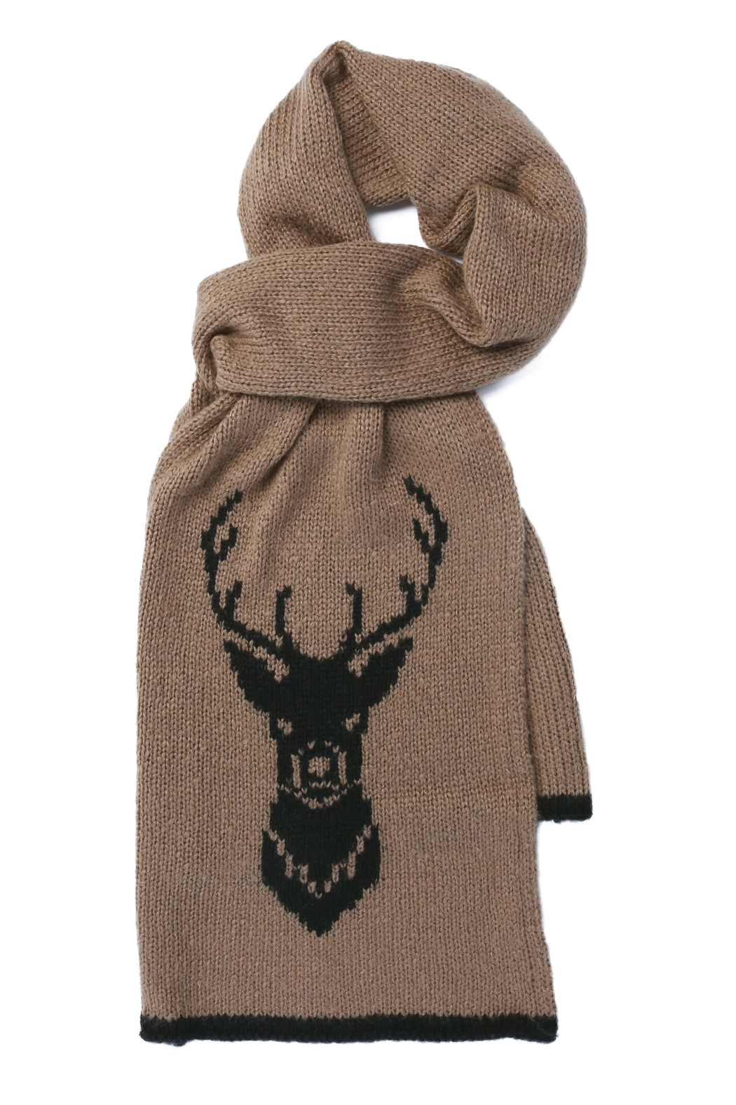 Wooden Ships Knit Buck Scarf - Front Cropped Image
