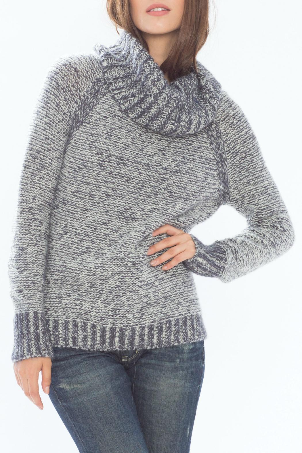 Wooden Ships Kyra Reversible Turtleneck - Front Cropped Image