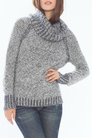 Wooden Ships Kyra Reversible Turtleneck - Front cropped