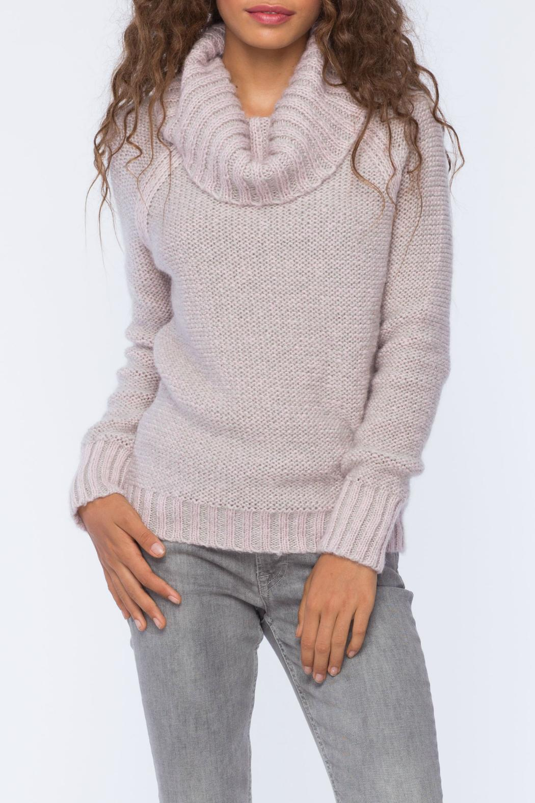Wooden Ships Kyra Reversible Turtleneck - Front Full Image