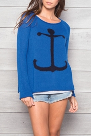Wooden Ships Lightweight Anchor Sweater - Product Mini Image