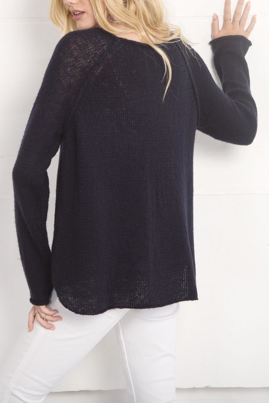Wooden Ships Lightweight Anchor Sweater - Front Full Image