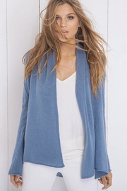 Wooden Ships Lightweight Wrap Sweater - Front full body