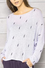 Wooden Ships Lilac Lightning Crewneck - Product Mini Image
