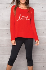 Wooden Ships Love Crew Sweater - Front cropped