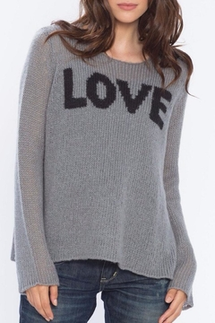 Wooden Ships Love Crewneck Sweater - Product List Image