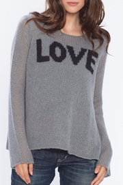 Wooden Ships Love Crewneck Sweater - Product Mini Image