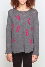 Wooden Ships Love Letter Sweater - Front cropped