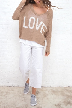 Wooden Ships Love V Sweater - Product List Image
