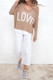Wooden Ships Love V Sweater - Product Mini Image