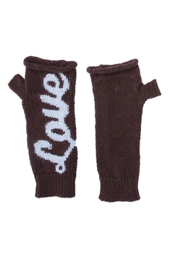 Shoptiques Product: Love Wristwarmer Gloves