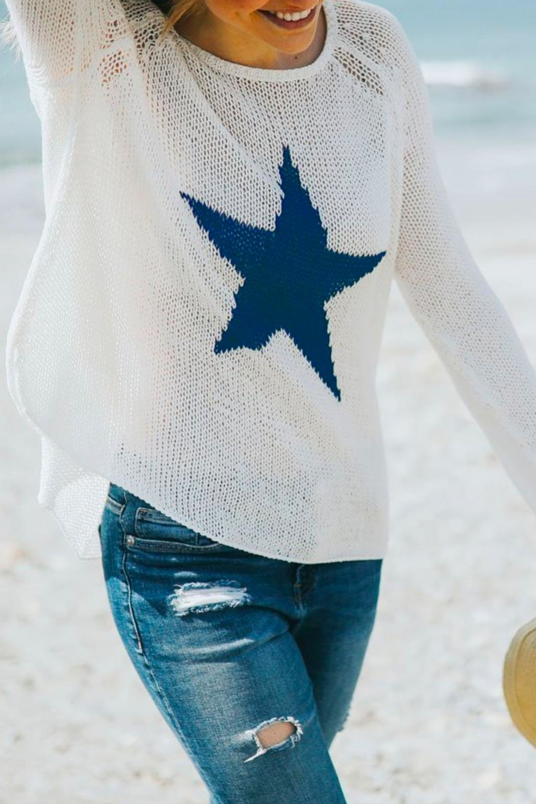 Wooden Ships Lucky Star Pullover - Main Image