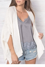 Wooden Ships Maria Open Cardigan - Back cropped