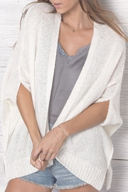 Wooden Ships Maria Open Cardigan - Front cropped
